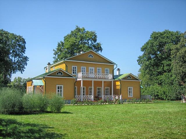 Free russia landscape scenic museum house architecture