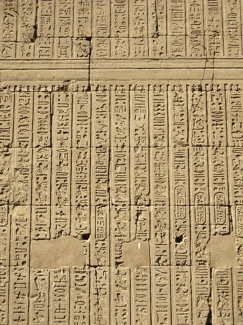 Free hieroglyphics egypt historically characters