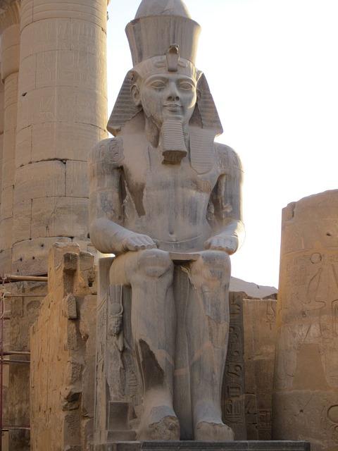 Free luxor egypt pharaonic nile temple statue deity