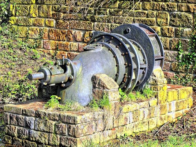 Free pump water pump machine tube water old metal