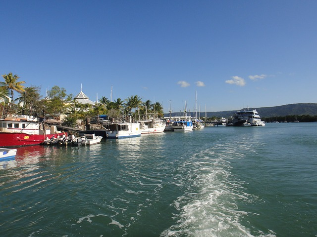 Free australia port boats water port douglas