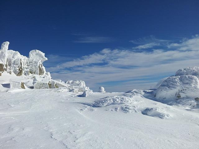 Free               winter winter magic blue sky sky blue white