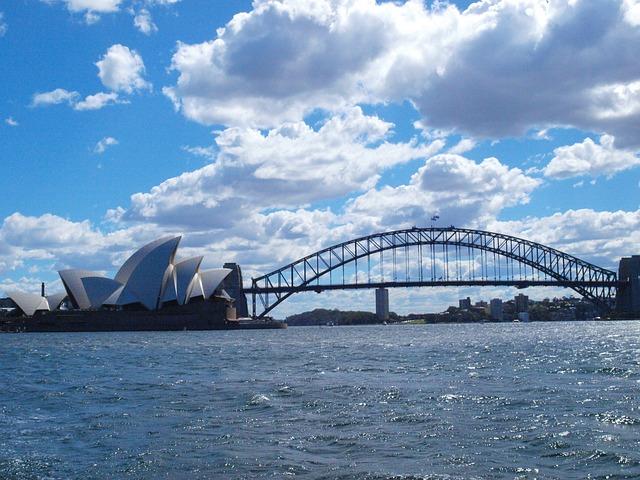 Free sydney harbor bridge distance