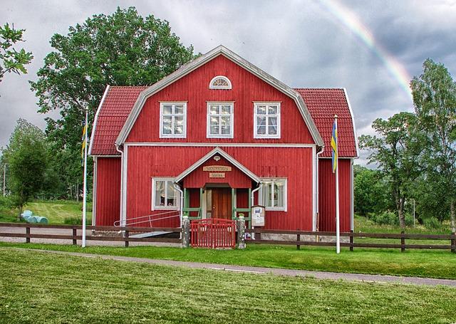 Free Photos: Suntak sweden landscape building welcome center | David Mark