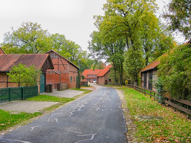 Free stellichte germany village town houses