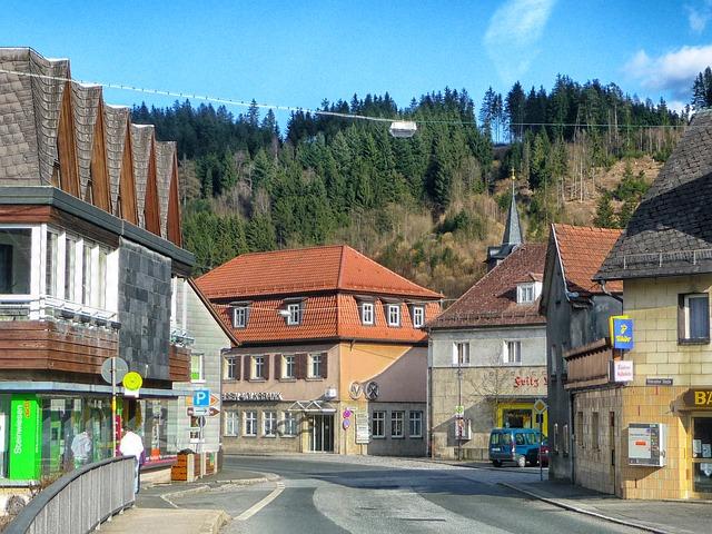 Free steinwiesen germany buildings town village
