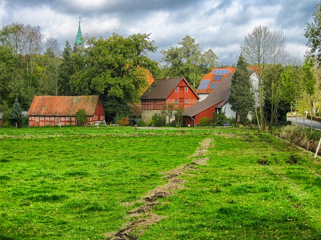 Free stellichte germany landscape scenic village