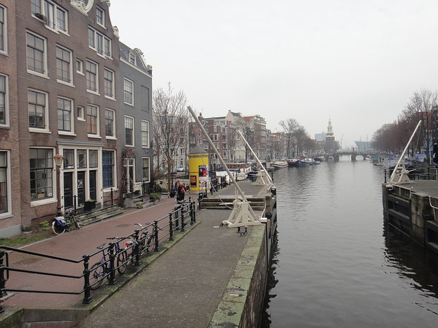 Free amsterdam canals channel water