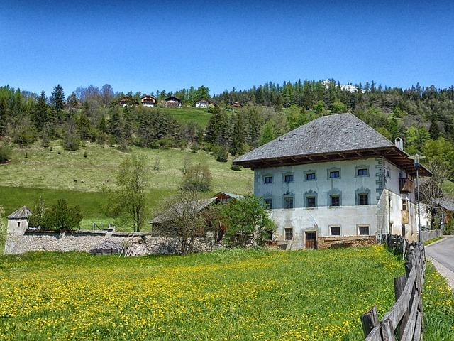 Free san vigilio bz italy landscape house buildings