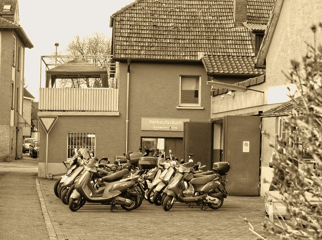Free backyard workshop village mopeds machine moped