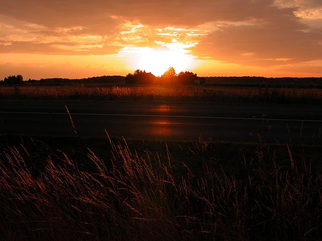 Free edemissen sun weather clouds sky agriculture