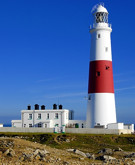 Free lighthouse portland bill summer building
