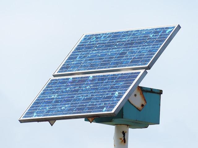 Free solar cells energy current environmentally friendly