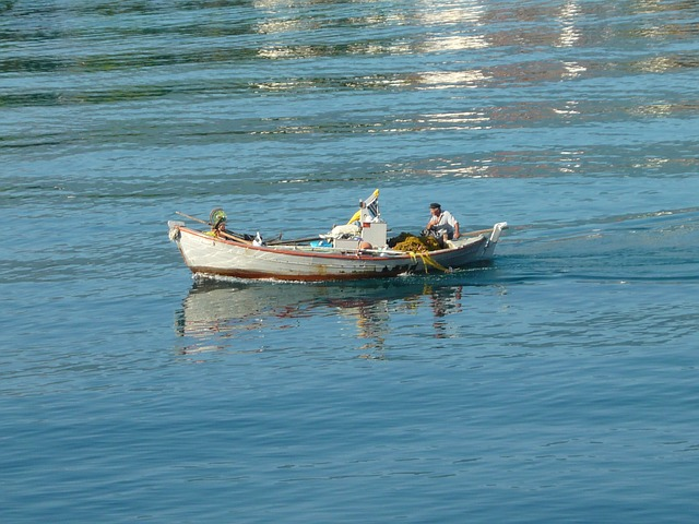 Free Photos: Fisher greek sea water man greece summer | Kata Ajtai