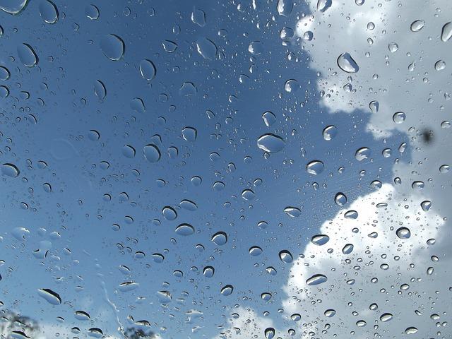 Free clouds drops sky cloud blue skies blue water