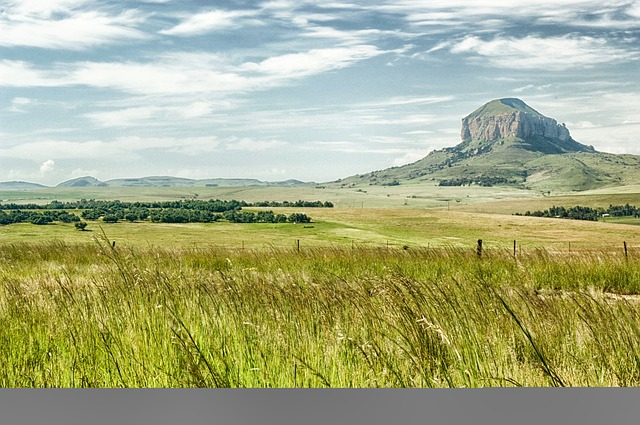 Free south africa landscape mountain sky clouds plants