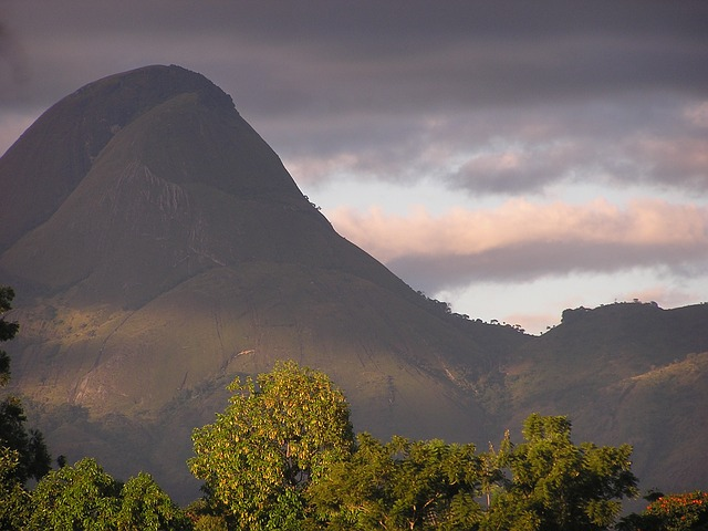 Free mozambique mountains sky clouds valley trees