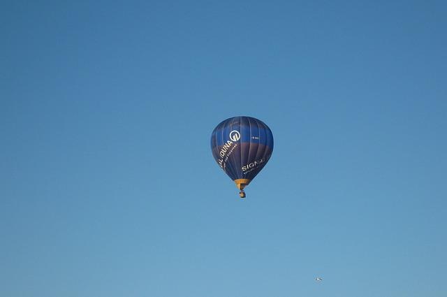 Free hot air balloon air sports fly balloon sky