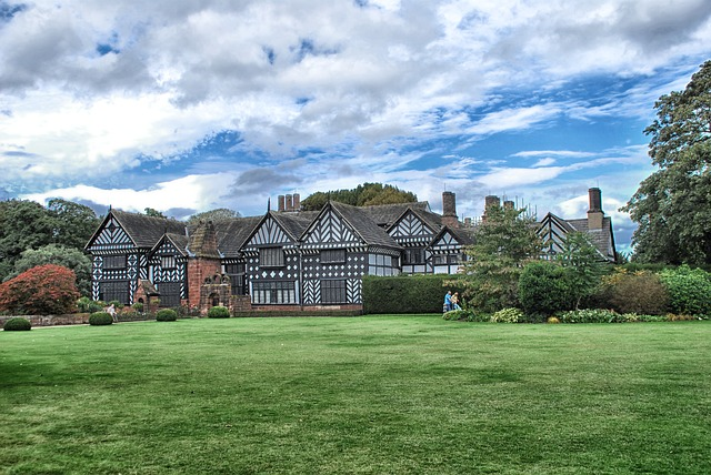 Free speke hall liverpool england great britain sky
