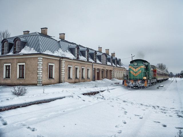 Free podlaski poland train station depot railroad