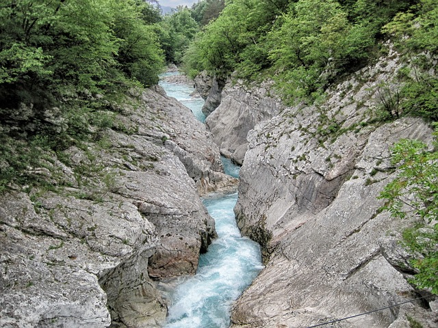 Free italy stream water rocks rocky landscape country