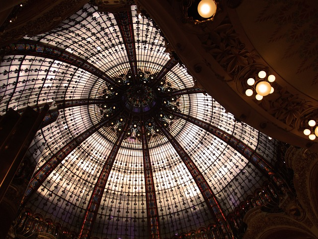 Free paris shopping centre ceiling architecture