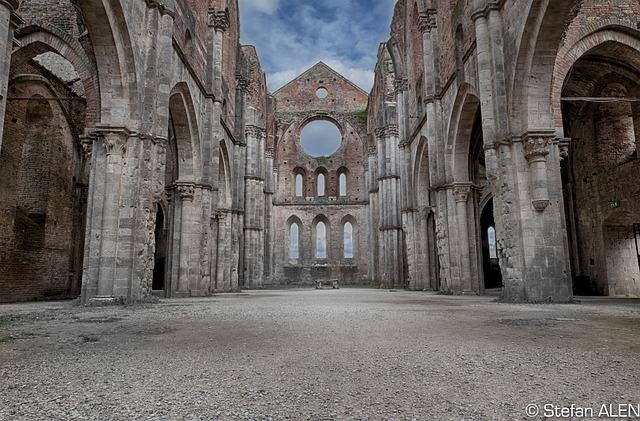 Free tuscany italy monastery abbey ruin san galgano