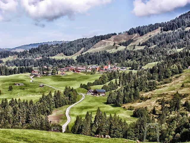 Free sibratsgfall austria landscape scenic mountains