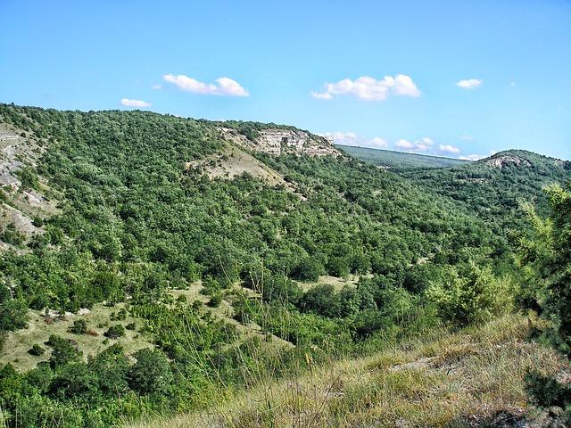 Free Photos: Crimea landscape scenic mountains forest trees | David Mark