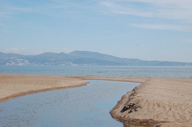 Free sea sand nature