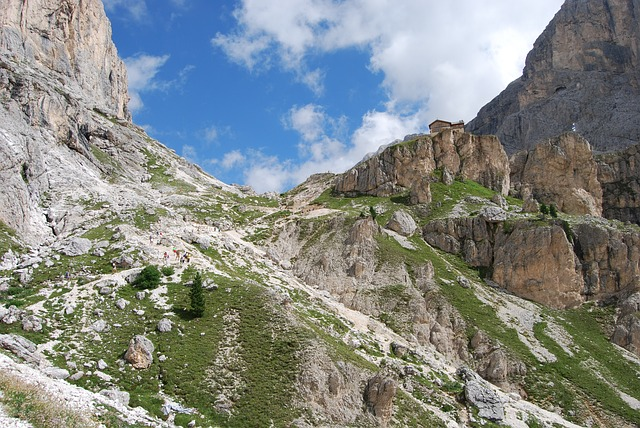 Free mountain mountains dolomites italy hiking trekking