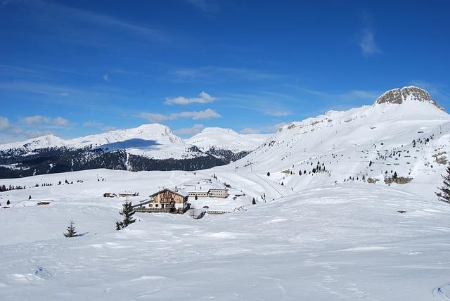 Free snow mountain mountains dolomites landscape italy