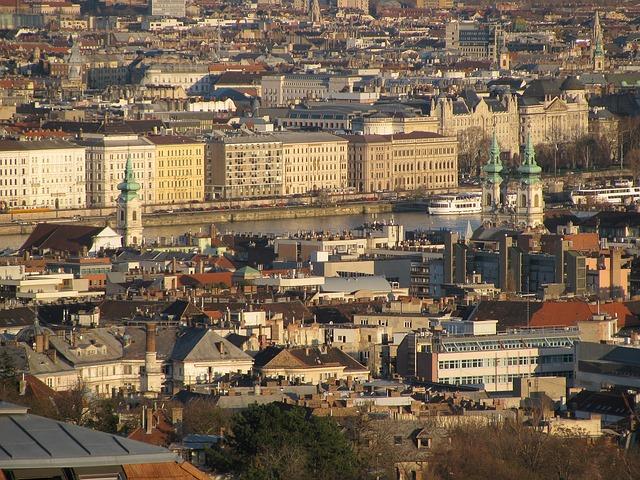 Free budapest spring panorama 2013