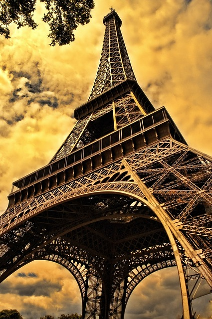 Free                the eiffel tower french eiffel paris