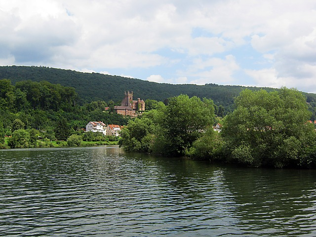 Free neckar neckarsteinach river current shipping