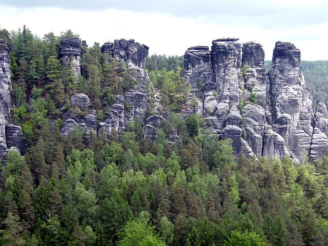 Free Photos: Elbe sandstone mountains schrammsteine rock climb | Gaby Stein