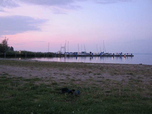 Free müritz see mecklenburg paddle evening boats port