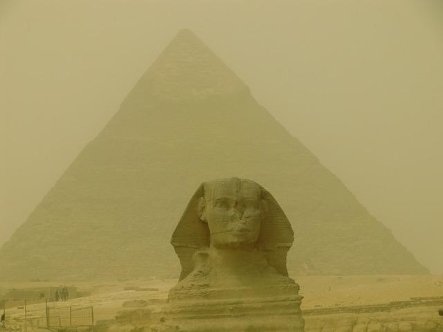 Free pyramid egypt shinx