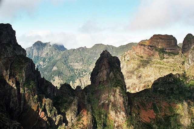 Free madeira summit hiking fog high 2000m trail