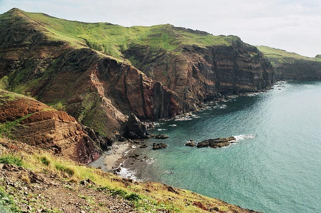 Free madeira east coast landscape ocean wild