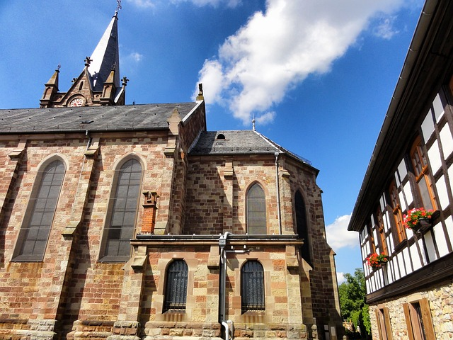Free schnersheim france buildings church architecture