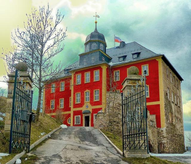 Free ranis germany palace brandenstein mansion home