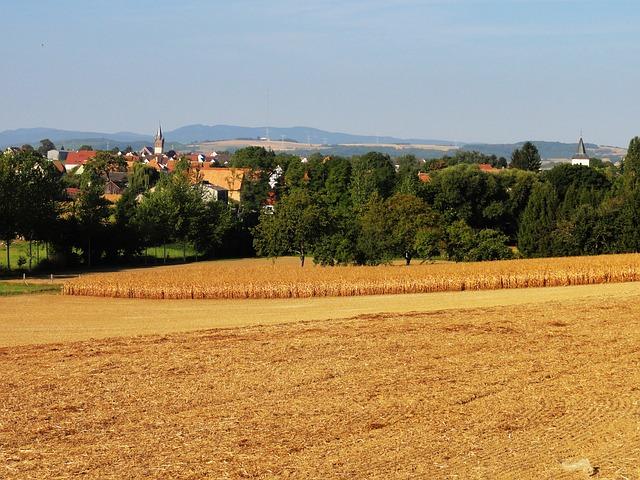 Free schnersheim france landscape scenic summer sky