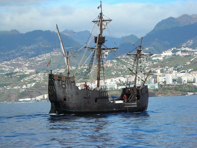 Free santa maria columbus replica sailing vessel funchal