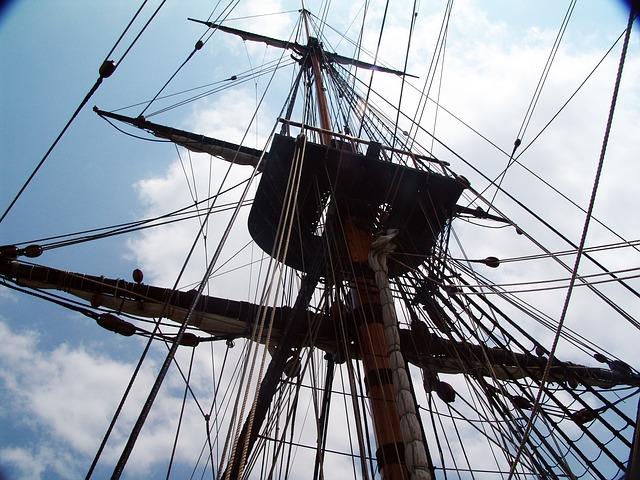 Free rigging sailing vessel segrelboot endeavour