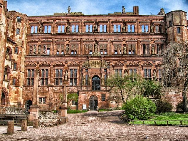 Free heidelberg germany castle palace building