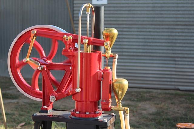 Free single cylinder engine machine vintage antique old