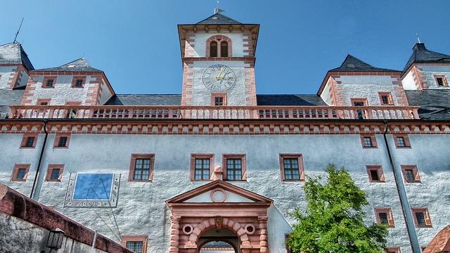 Free sachsen germany augustusburg castle building