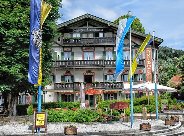 Free schliersee germany hotel sky clouds building