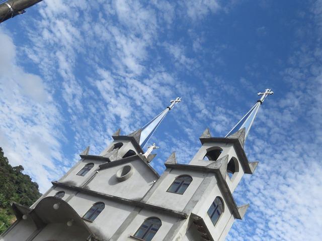 Free church construction brazil religion architecture
